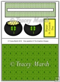 Happy St Patricks Day Penny Slider Sheet