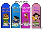 Graduation/ Book worm Bookmarks