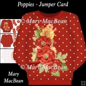 Poppies - Jumper Card