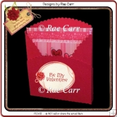 941 Scalloped or Plain Gift Bag or Box Multiple MACHINE Formats