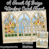 A Touch Of Beige Window Card Front
