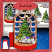 Christmas platform card set 10