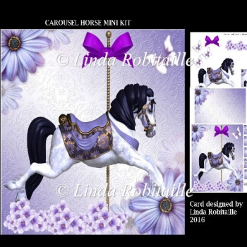Carousel Horse Mini Kit