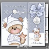 Beary Nice Christmas Lilac Mini Kit