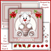Iluvyoubearymuch Card Front 2