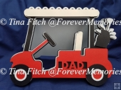 Fathers Day Golf Cart Card TF0212 SVG,MTC,SCAL, SNC,CAMEO,CRICUT