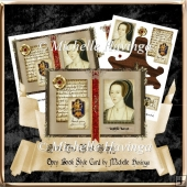 Anne The Most Happy~ Open Book Style Card Kit