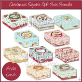Christmas Square Gift Box Bundle