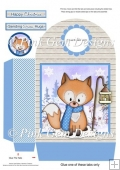 Christmas Freddy Fox Large Gift Bag