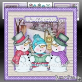 Singing Snowmen Mini Kit