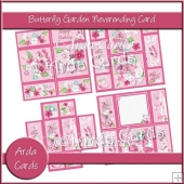 Butterfly Garden Neverending Card