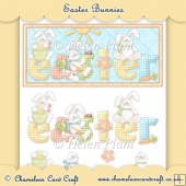 Easter Bunnies DL Card Front