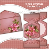 Tri Fold Christmas Cracker Card