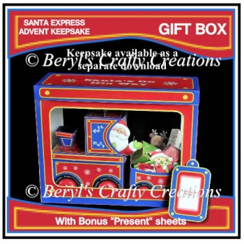 "Santa Express Gift Box with Bonus ""Mini Presents"""