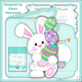 Eggstraspecial Bunny Shaped Card