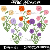 5 Digital Wild Flowers
