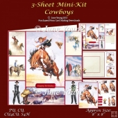 Cowboys - 3-Sheet Mini-Kit