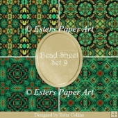 Printable Paper Bead Sheet Set 9