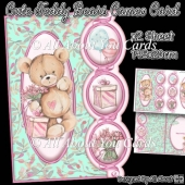 Cute Teddy Bears Cameo Card