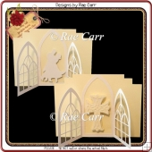 918 Wedding or Sympathy Gatefold Multi-MACHINE Formats