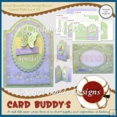 Wind Beneath My Wings Round Topped Fold Card Kit
