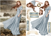 Lady Guinevere (Light Blue) With Insert