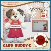 Doggie Greetings Shaped Fold Card Kit