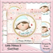 Little Mittens 3 Card Front