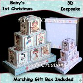 Baby Boy 1st Christmas Keepsake