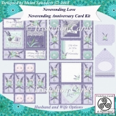 Neverending Love Neverending Anniversary Card Kit with Envelope