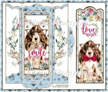 Dog's Best Friend Bookmark Set