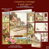 Country Cottage - 3-Sheet Mini-Kit