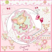 Happy Purrday! Easel Card Kit