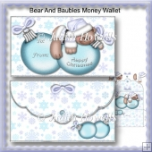 Bear And Baubles Money Wallet
