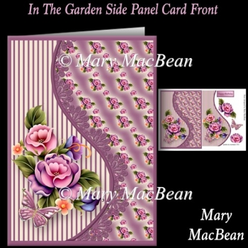 In the Garden Side Panel Card Front
