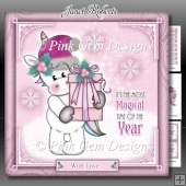 Magical Christmas Unicorn Pink Mini Kit