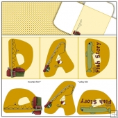 Dad Trifold Card