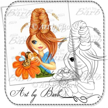 Beehive Digital Stamp