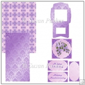 Lilac Easel Card
