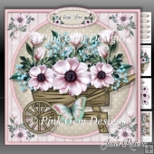 Pink Rose Barrow Mini Kit