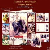 Native American - 3-Sheet Mini-Kit