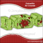 Poinsettia 3D Cracker Gift Box