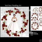 Red Rose Wedding Mini Kit