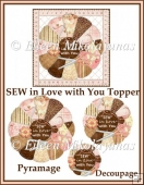 SEW in Love with You Pyramage Topper 5