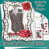 Meet Me Under The Mistletoe card Kit