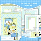 Brrr It's Cold Outside Box Card