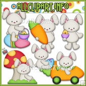Funny Bunny Commercial Use Clip Art