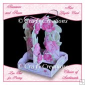 Mini Gazebo Card - Romance & Roses