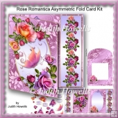 Rose Romantica Asymmetric Fold Card Kit