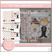 The Happy Couple Square Card Set